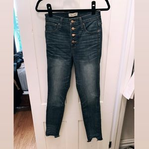 Madewell Highwaisted Skinny Jean